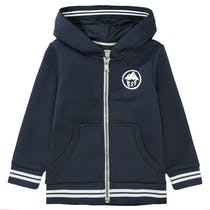 BASEFIELD Sweatjacke - Soft Navy