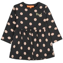 Sweatkeid DOTS im Allover-Punkt-Design - Deep Stone