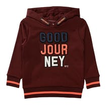 Kapuzensweatshirt JOURNEY - Dark Red