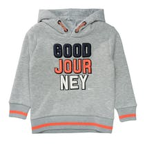 Kapuzensweatshirt JOURNEY - Grey Melange