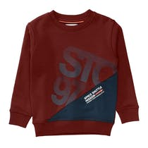 Sweatshirt STC 97 - Dark Red