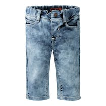 Sweat Jeans mit cooler Waschung - Light Blue Denim