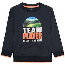 Sweatshirt TEAM PLAYER - Deep Marine