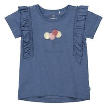 BASEFIELD T-Shirt SO LOVELY - Jeans Blue