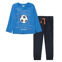 Pyjama JUST KICK IT - Royal Blue