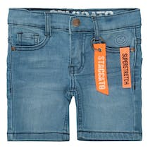 Jungen Jeans-Bermudas - Light Blue Denim