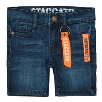 Jungen Jeans-Bermudas - Dark Blue Denim