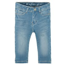 Mädchen Skinny Capri Jeans Slim Fit - Light Blue Denim