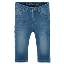 Mädchen Skinny Capri Jeans Slim Fit - Mid Blue Denim