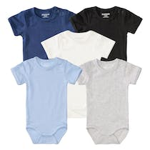 ORGANIC COTTON Body 5er-Pack - Bunt