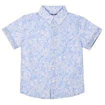 Hemd mit Allover-Print - Tropical