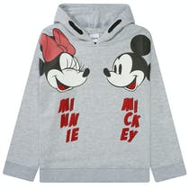 JETTE Hoodie Micky Maus - Clear Grey