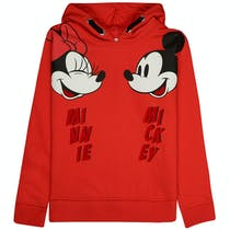 JETTE Hoodie mit Micky Maus - Hot Red