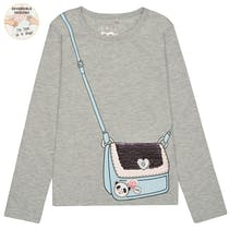 Shirt Tasche - Soft Grey