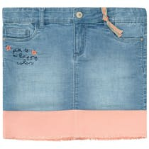 JETTE Jeansrock Happy Color - Midblue Denim