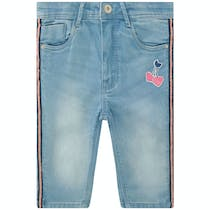 JETTE Capri Denim Slim Fit - Blue Denim