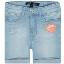 JETTE Jeans Bermuda - Light Blue Denim