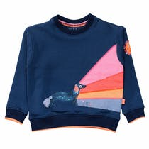 JETTE Sweatshirt Rainbowe - Shadowblue