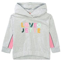 JETTE Sweatshirt - Soft Grey Melange