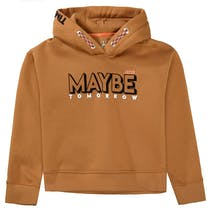 JETTE Hoodie MAYBE TOMORROW - Camel