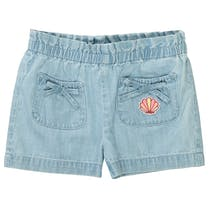 JETTE Shorts - Light Blue Denim