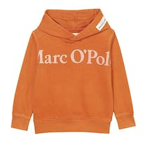 MARC O'POLO Hoodie aus reiner Bio-Baumwolle - Orange