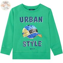 ATTENTION Sweatshirt Urban - Bright Green