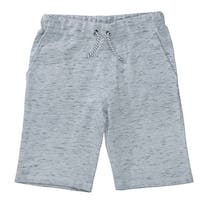 ATTENTION Sweatbermudas im melierten Design - Mid Silver Melange