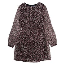 ATTENTION Kleid mit Blumen-Print - Black AOP