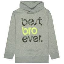 ATTENTION Sweatshirt BRO - Grey mel.