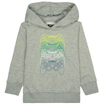 ATTENTION Kapuzen-Sweatshirt - Grey melange