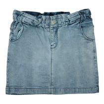 ATTENTION Jeansrock - Light Blue Denim